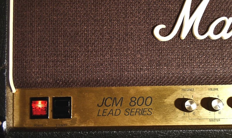 JCM800 beauty shot